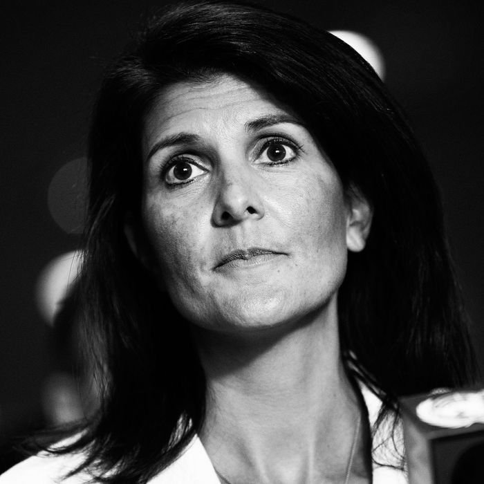 Nikki Haley.