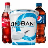 Coke and Pepsi Are Both Trying to Purchase Part of Chobani Yogurt