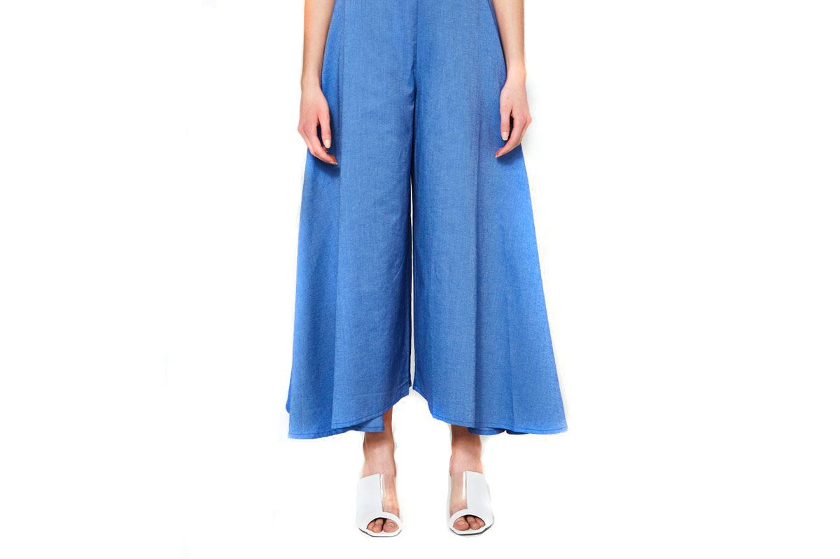 Toit Volant Ella Pants in French Blue