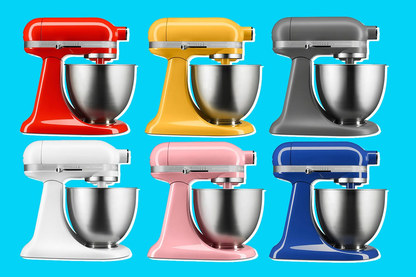 Kitchenaids Artisan Mini Is The Best Mixer For Millennials Kitchenaid