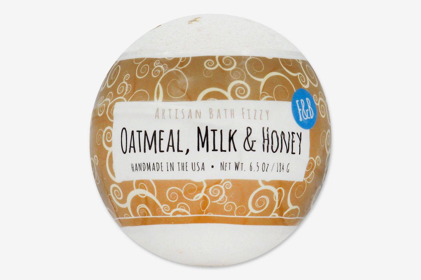 Fizz & Bubble Artisan Bath Fizzy in Oatmeal Milk and Honey