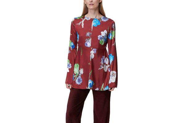 Acne Studios Bahari Floral Shirt
