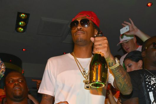Rapper Future performs at 1 OAK Nightclub at The Mirage Hotel & Casino to celebrate Memorial Day weekend on May 26, 2013 in Las Vegas, Nevada.