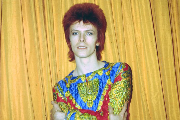 "Bowie As ""Ziggy Stardust"" In NY"