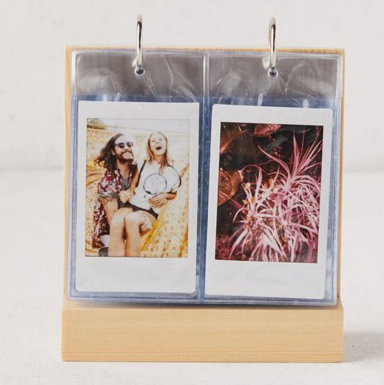 Tabletop Wood Flip Instax Mini Picture Frame