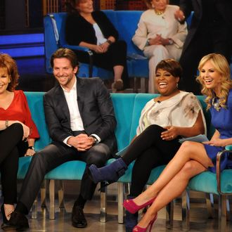 THE VIEW - Actor Bradley Cooper was the guest today, January 8, 2012, on