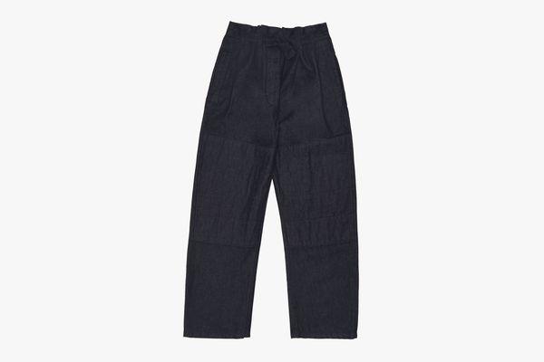 Lemaire SSENSE Exclusive Navy Martial Jeans