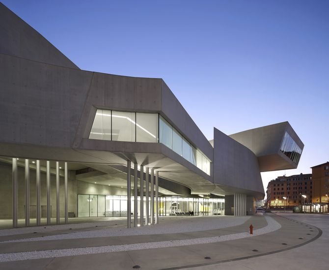 MAXXI National Museum of the 21st Century Arts, Art Gallery, Eur