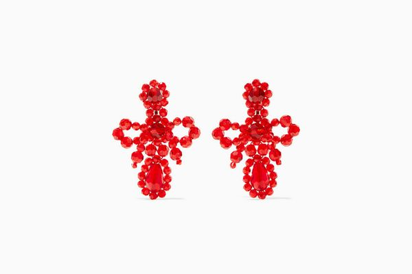 SIMONE ROCHA Crystal earrings