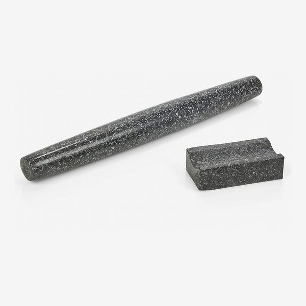 Homiu Granite Rolling Pin With Stand