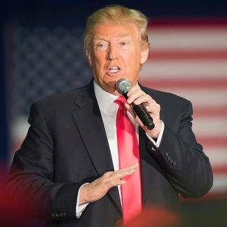 Presidential Candidate Donald Trump Campaigns In Wisconsin Ahead Of State's Primary