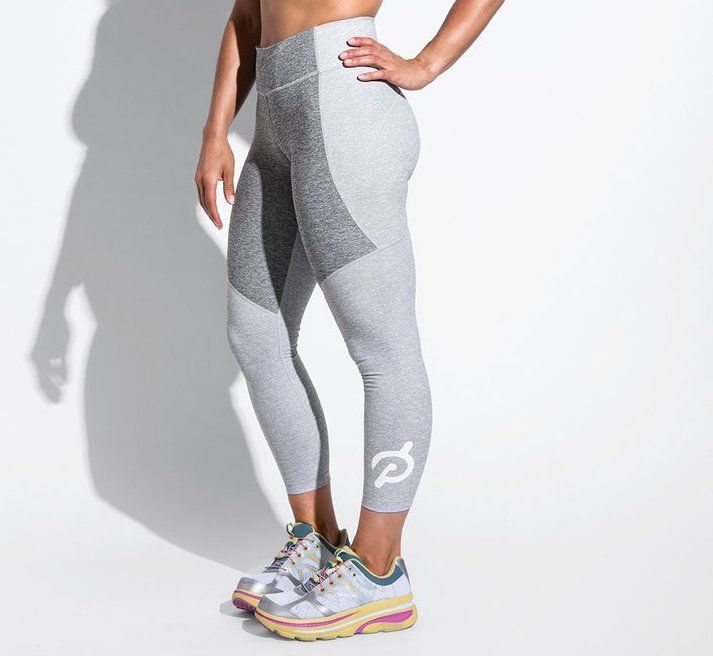 Outdoor Voices Peloton 3/4 Two-Tone Leggings