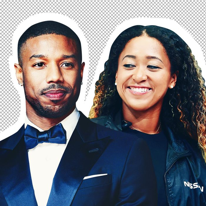8c40e929ca0d88 Michael B. Jordan Asked Naomi Osaka to the Creed 2 Premiere