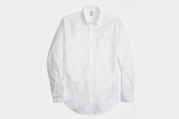 Brooks Brothers Regent Fit Oxford Sport Shirt