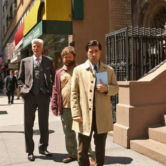 Episode 106 Scene A7: Jonathan tells George and Ray his plan.