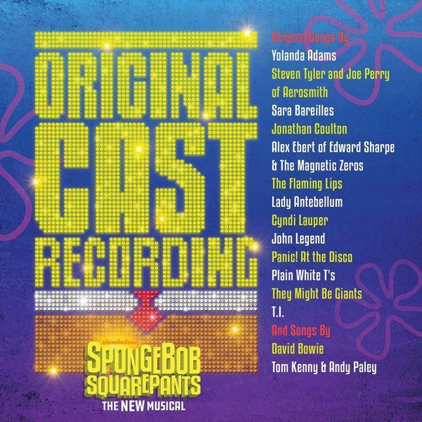 'SpongeBob SquarePants: The New Musical' Original Cast Recording