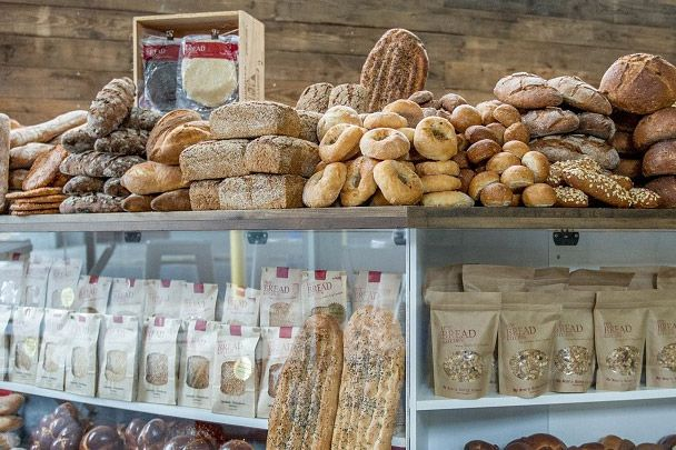 The range of breads and more created by women from around the world.