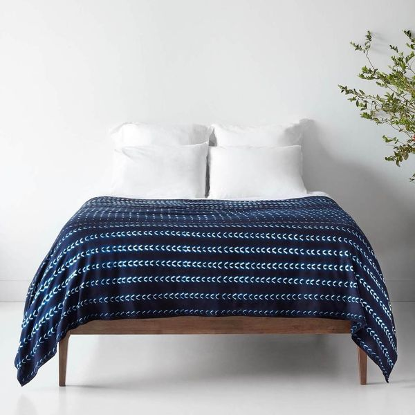 Arala Indigo Bed Blanket