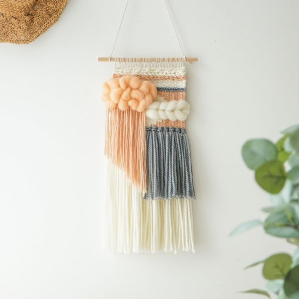 SheweaveCraft Small Weaving Loom Kit