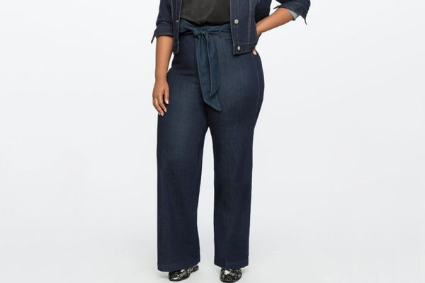 High Rise Wide-Leg Denim