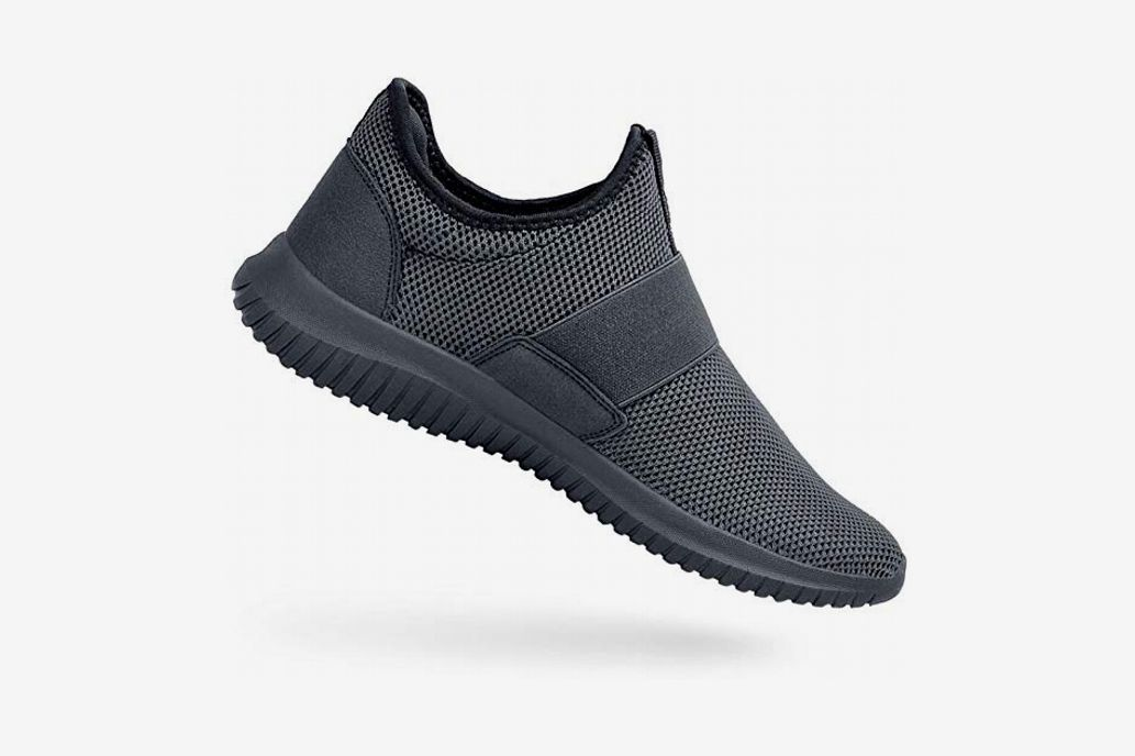 404abfd754875 The best mesh walking shoes for men. Feetmat Slip-On Knit Lightweight  Sneakers