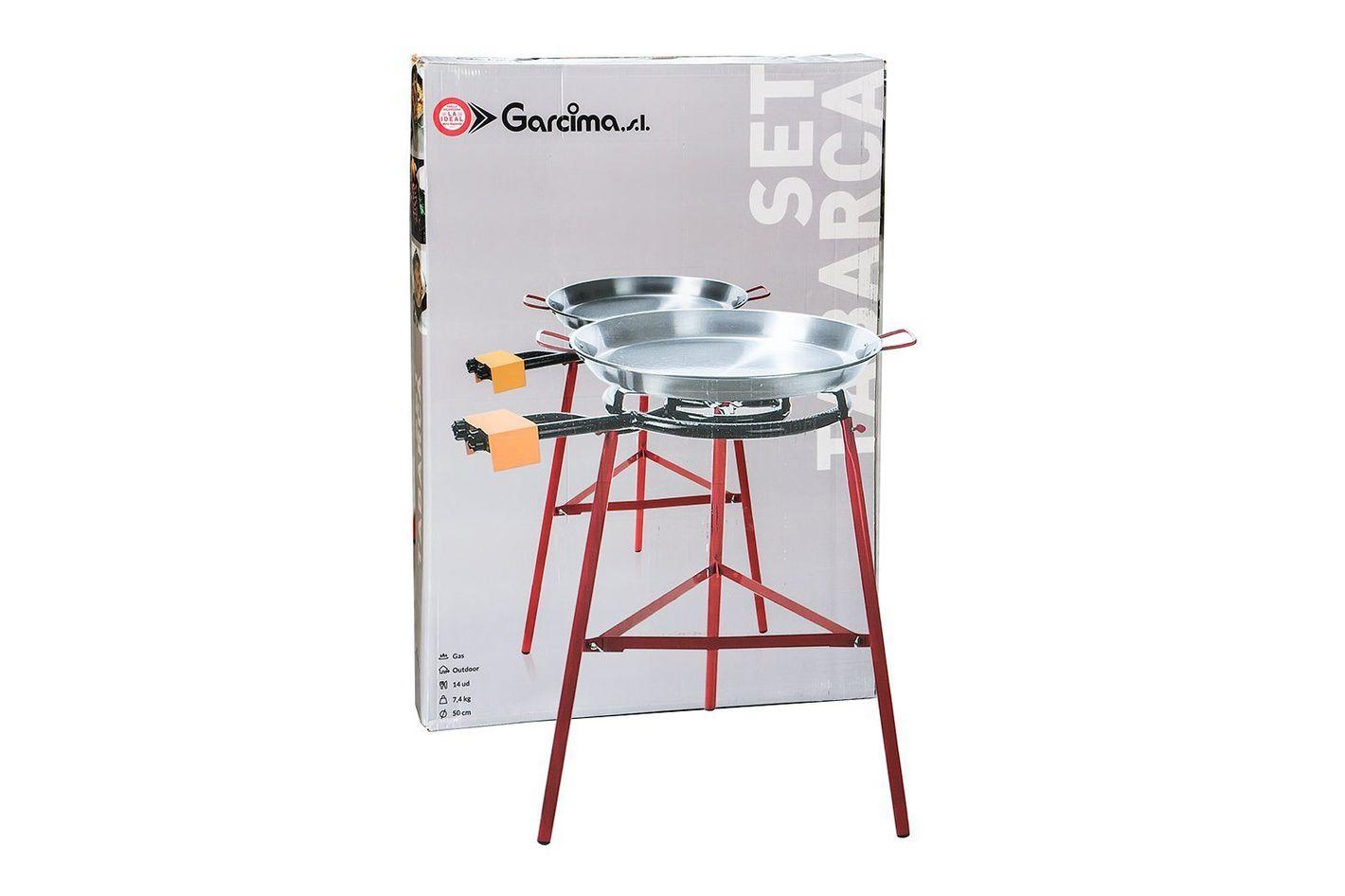 Paella Pan + Paella Burner and Stand Set