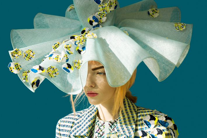 An image from Thom Browne's spring collection.