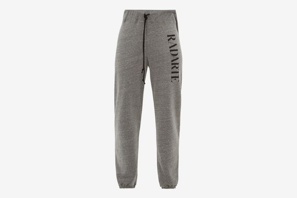 Rodarte Radarte Fleece-Back Jersey Track Pants