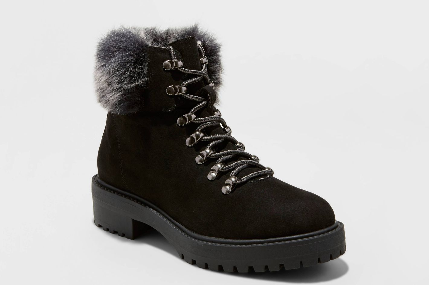 Merona  Faux Fur Tipped Boots
