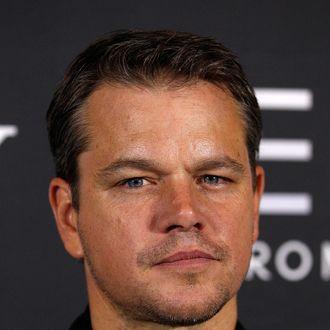 SYDNEY, AUSTRALIA - AUGUST 12: Actor Matt Damon arrives for the