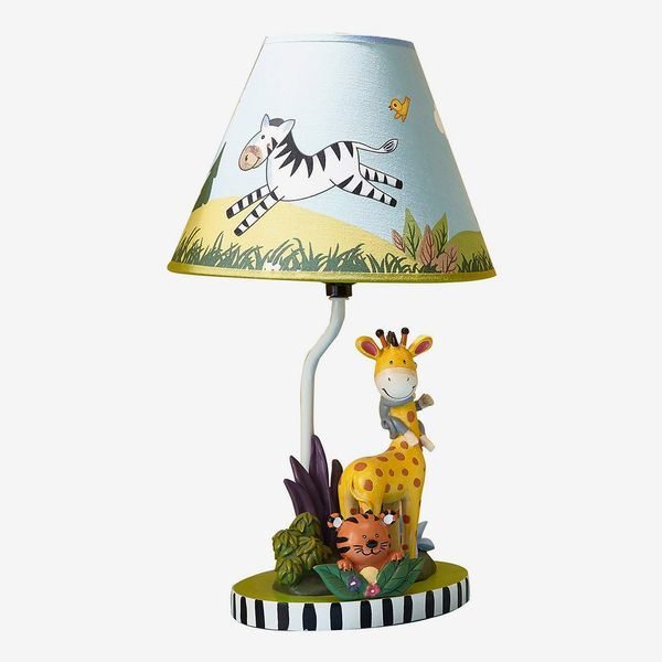 Fantasy Fields - Sunny Safari Animals Thematic Kids Table Lamp