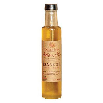 Oliver Farm's benne oil.