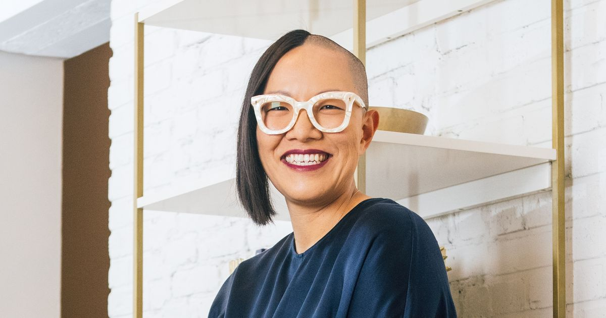 The Tech Executive Who Shaves Half Her Head