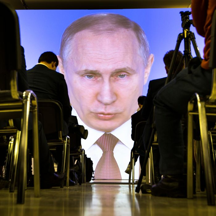f1504aaeb The great and terrible Putin has some new toys. Photo: Alexander  Zemlianichenko/AP. When Russian president ...