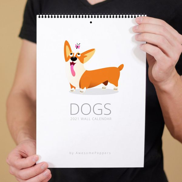 AwesomePeppers 2021 Dogs Calendar