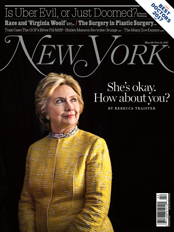 hillary clinton page completely new york magazine
