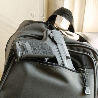Gun in Bookbag