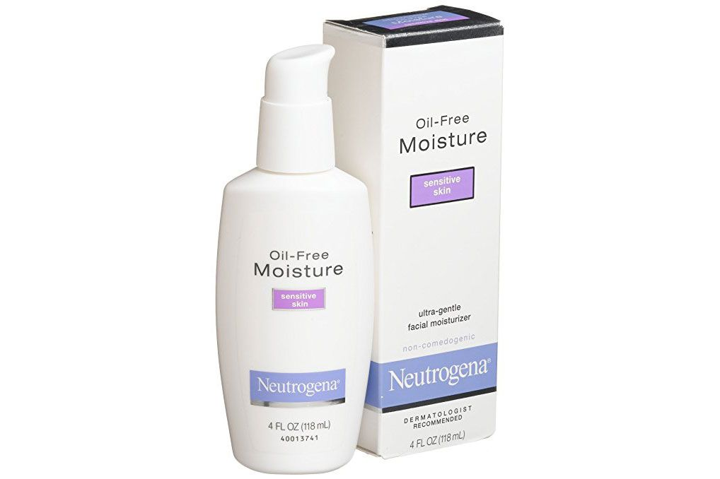 NEUTROGENA Oil-Free Moisture Sensitive Skin Ultra-Gentle Facial Moisturizer