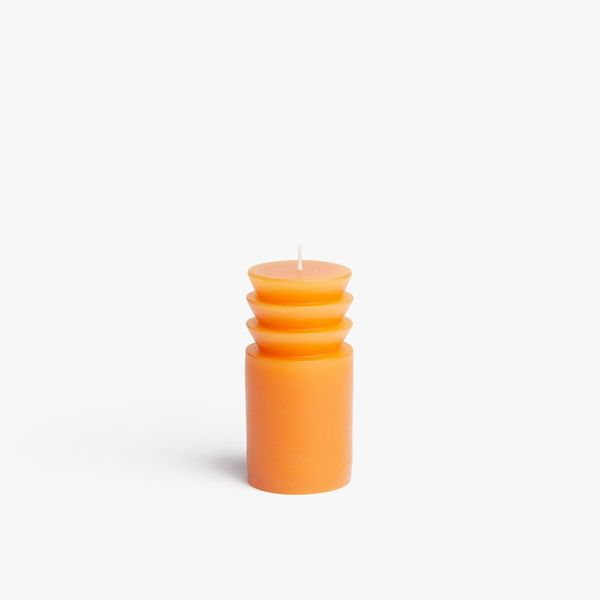 Areaware Small Terracotta Totem Candle
