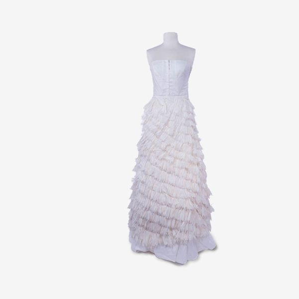 Never-Produced Wedding Dress Designed by Betsey Johnson