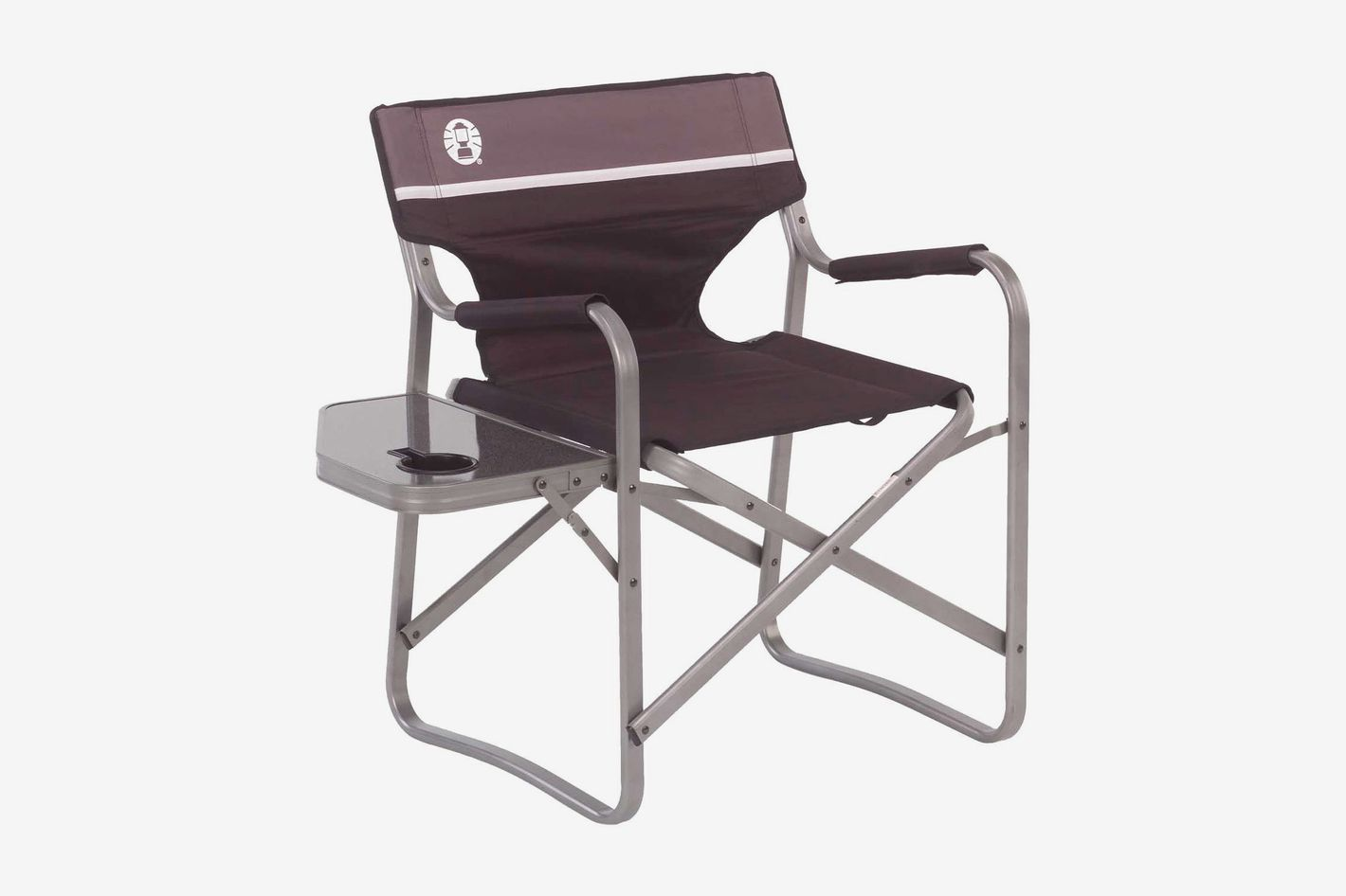 Coleman Portable Deck Chair With Side Table At Amazon