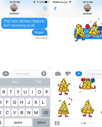 How To Use Imessage Stickers And Animations In Ios 10