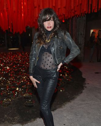 Actress Paz de la Huerta attends the Roy Nachum Art Opening at Joseph Nahmad Contemporary Gallery on May 10, 2012 in New York City.