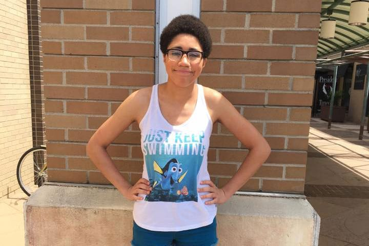 cbe0f894edd072 Michigan Woman Kicked Out of Mall for  Inappropriate  Finding Nemo Tank Top  and Shorts