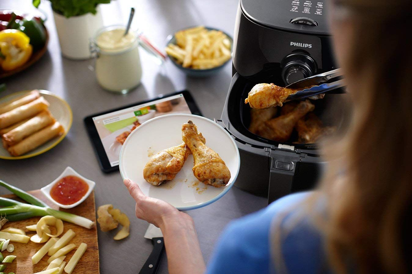 Philips HD9621/26 Viva Turbo star Air fryer