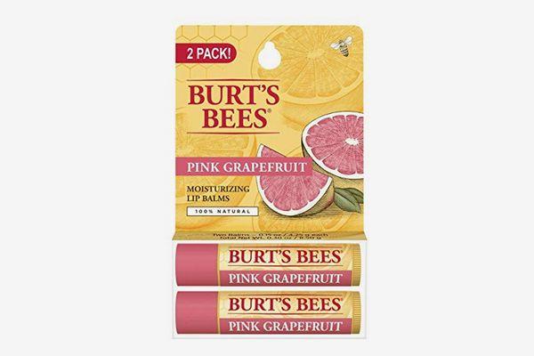 Burt's Bees 100% Natural Moisturizing Beeswax Lip Balm, Pink Grapefruit
