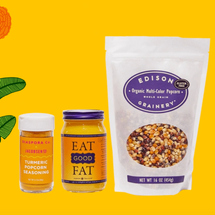 Diaspora Co. Turmeric Popcorn Spice