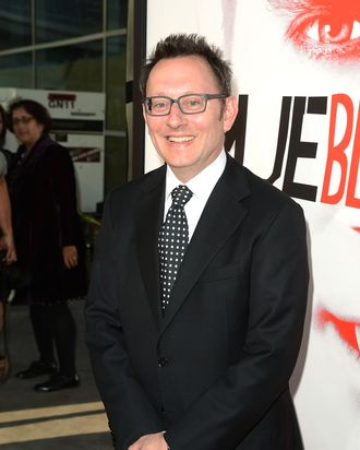 Actor Michael Emerson arrives at the premiere of HBO 'True Blood' season 5 premiere