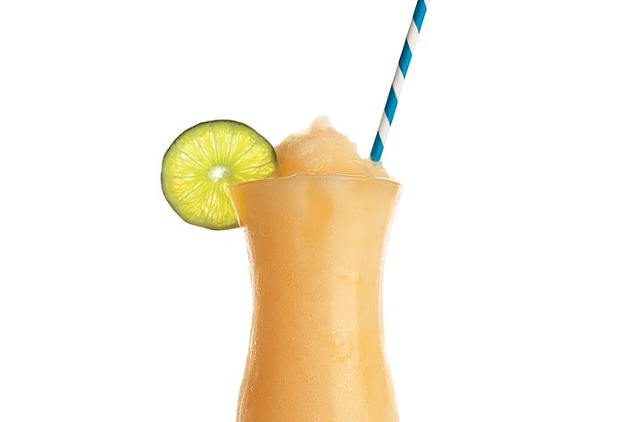On the menu: booze smoothies, like this one from Nights & Weekends.