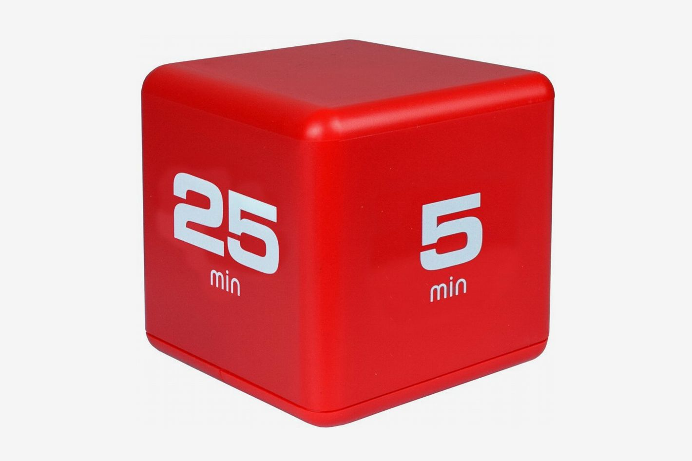 Miracle Cube Timer, Time Management Model, 5-10-20-25 Minute Preset Timer